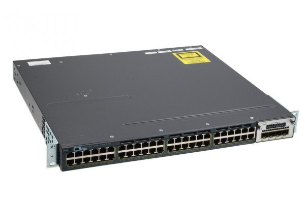 Cisco 48-Port Gigabit Managed Switch / WS-C3560X-48T-L inkl. 2x PSU + C3KX-NM-1G